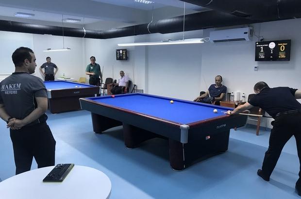 Bilardo turnuvamız tamamlandı 2018